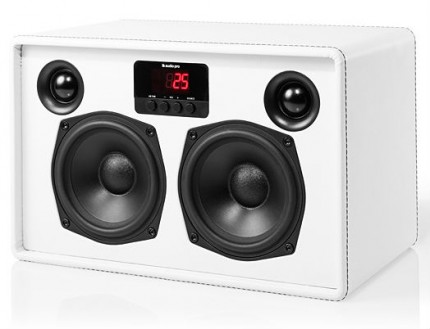 audio pro allroom air one white visible speakers