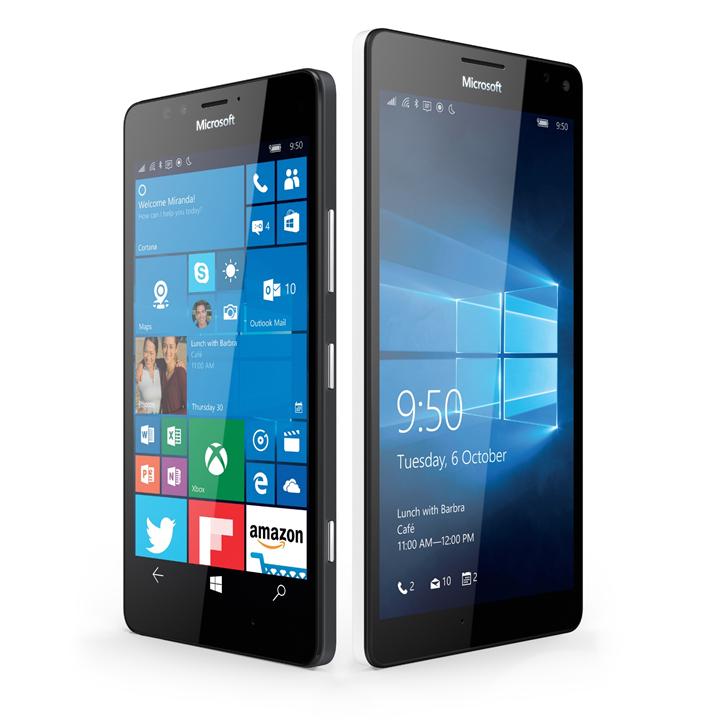 Lumia 950 och 950 XL.