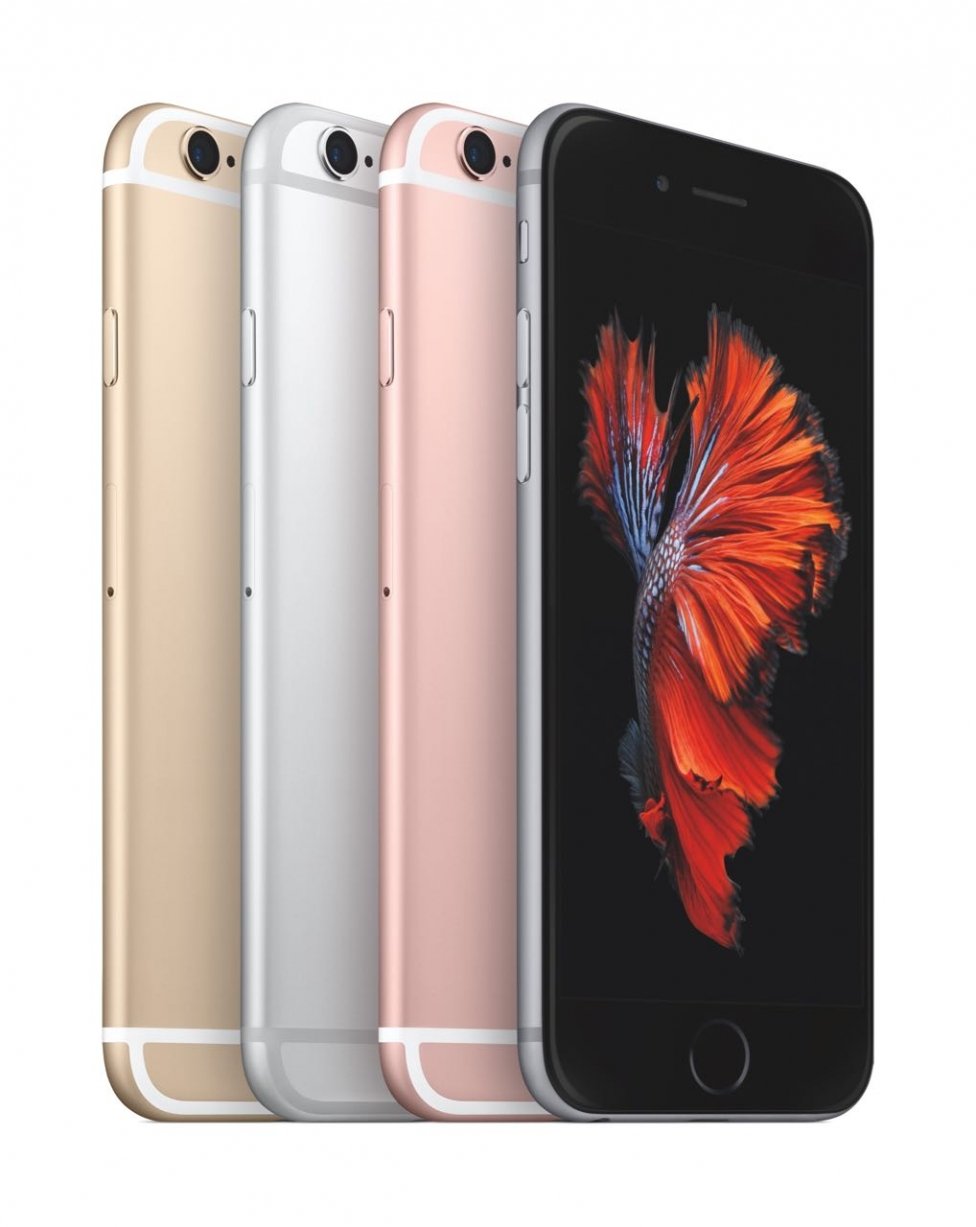 Iphone 6s 4 colors
