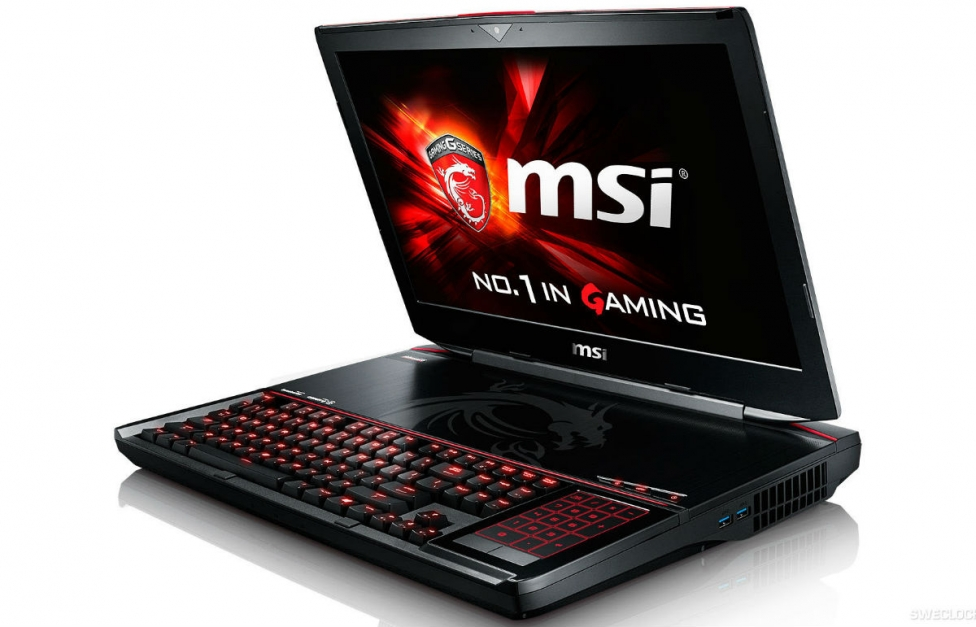 msi gt80 front side