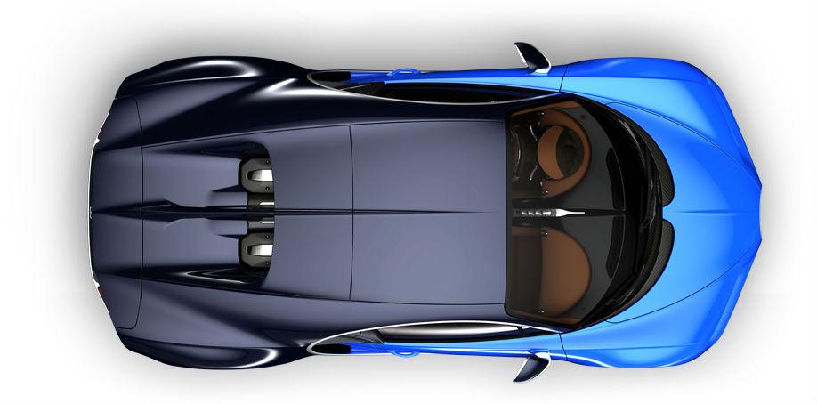 bugatti chiron topview