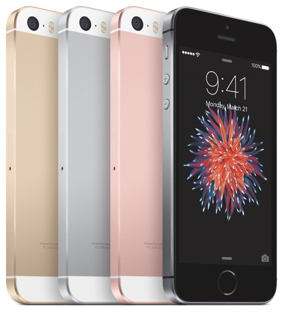 iPhoneSE-4ColorLineUp