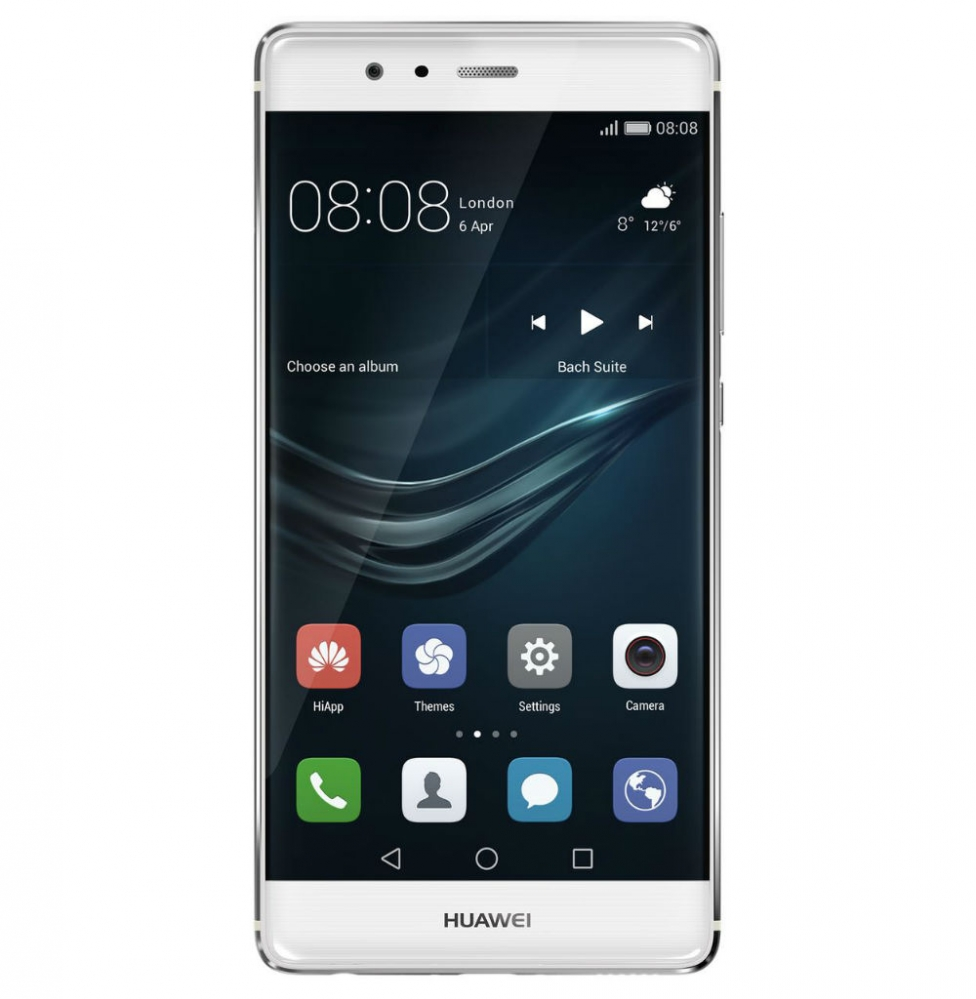 huawei p9 silver front