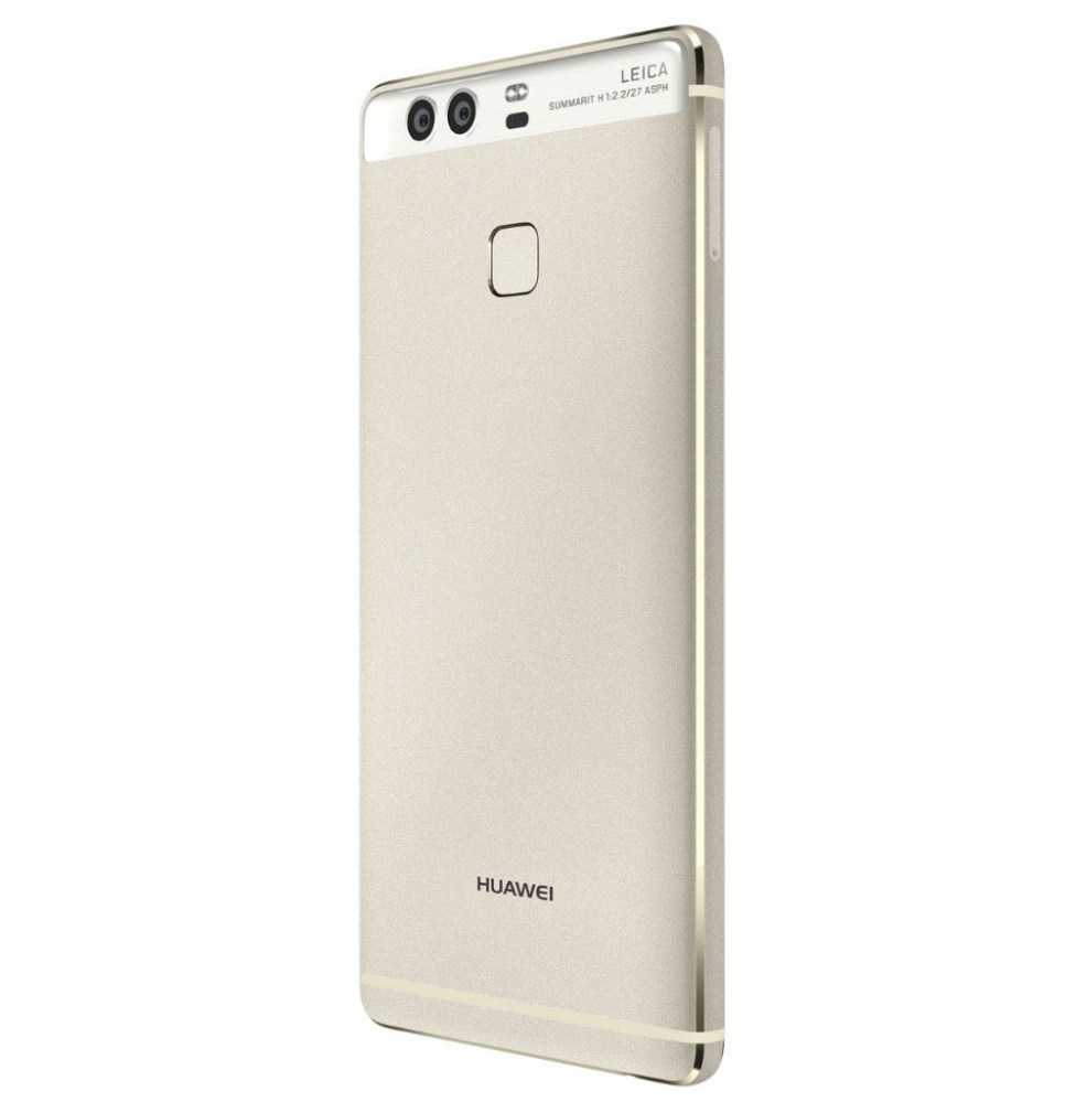 huawei p9 silver left back